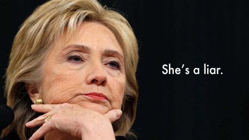 Hillary's top 5lies