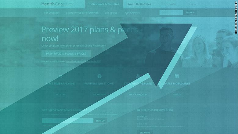 Obamacare Premiums Skyrocket in2017