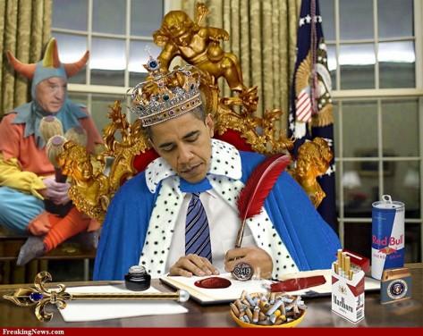 Barack Obama king of regulation