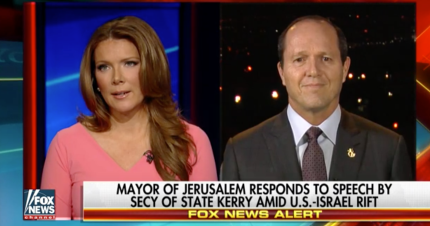 Mayor of Jerusalem Nir Barkat responded to John Kerry about United Nations resolution